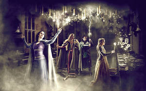 The Founders of the Hogwarts by Yulashka