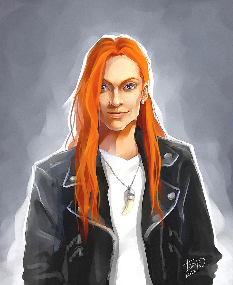 Bill Weasley by Yulashka