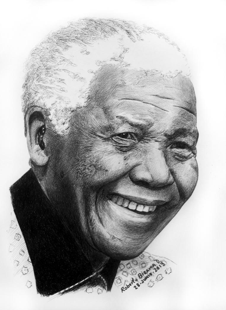 NELSON MANDELA by RobertoBizama