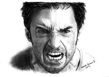 #Hugh Jackman by RobertoBizama