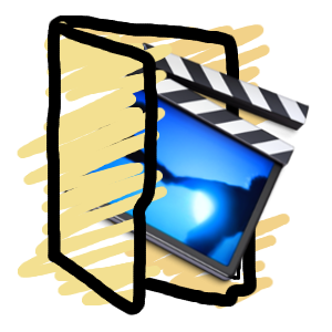 Movies folder icon by Obinoobie