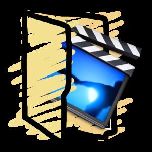 Movies folder icon by Obinoobie