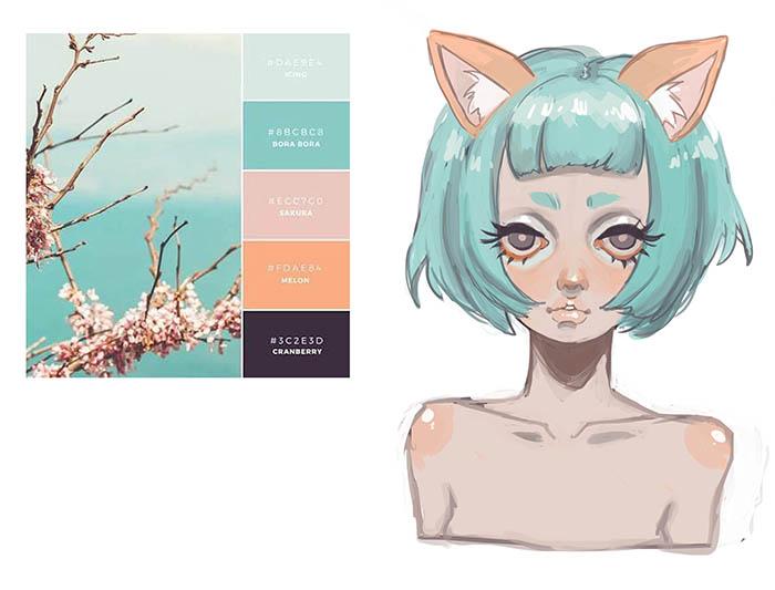 Palette Challenge by MiiMiiu