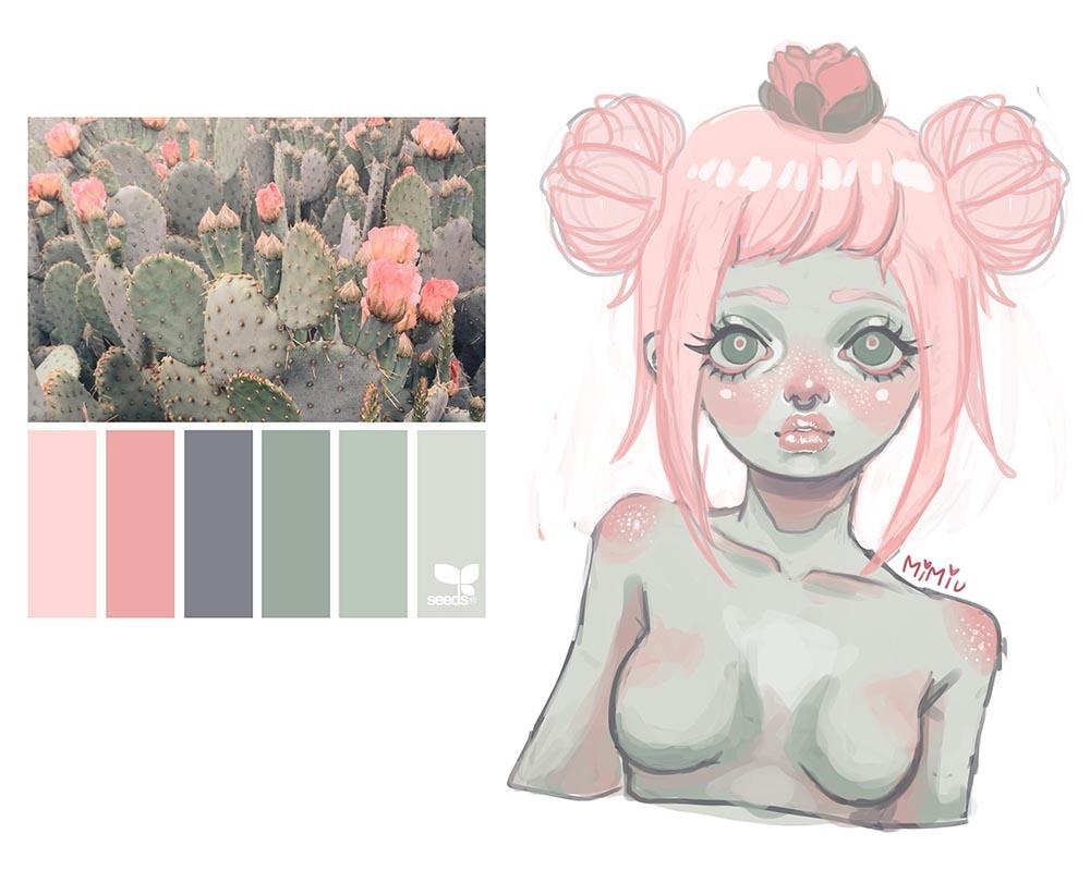 Palette Challenge 2 by MiiMiiu