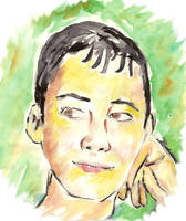 retrato-acuarela by SajoPC