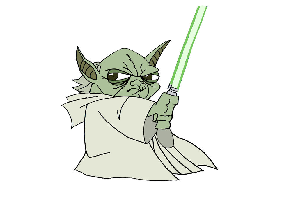 Yoda coloriage (28-01-13) by szaas on DeviantArt