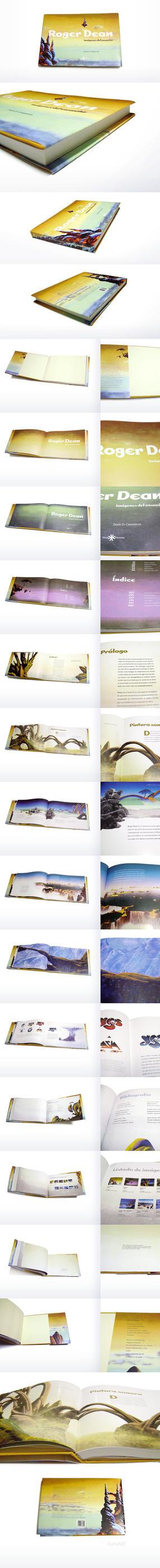 Roger Dean's book by darioart