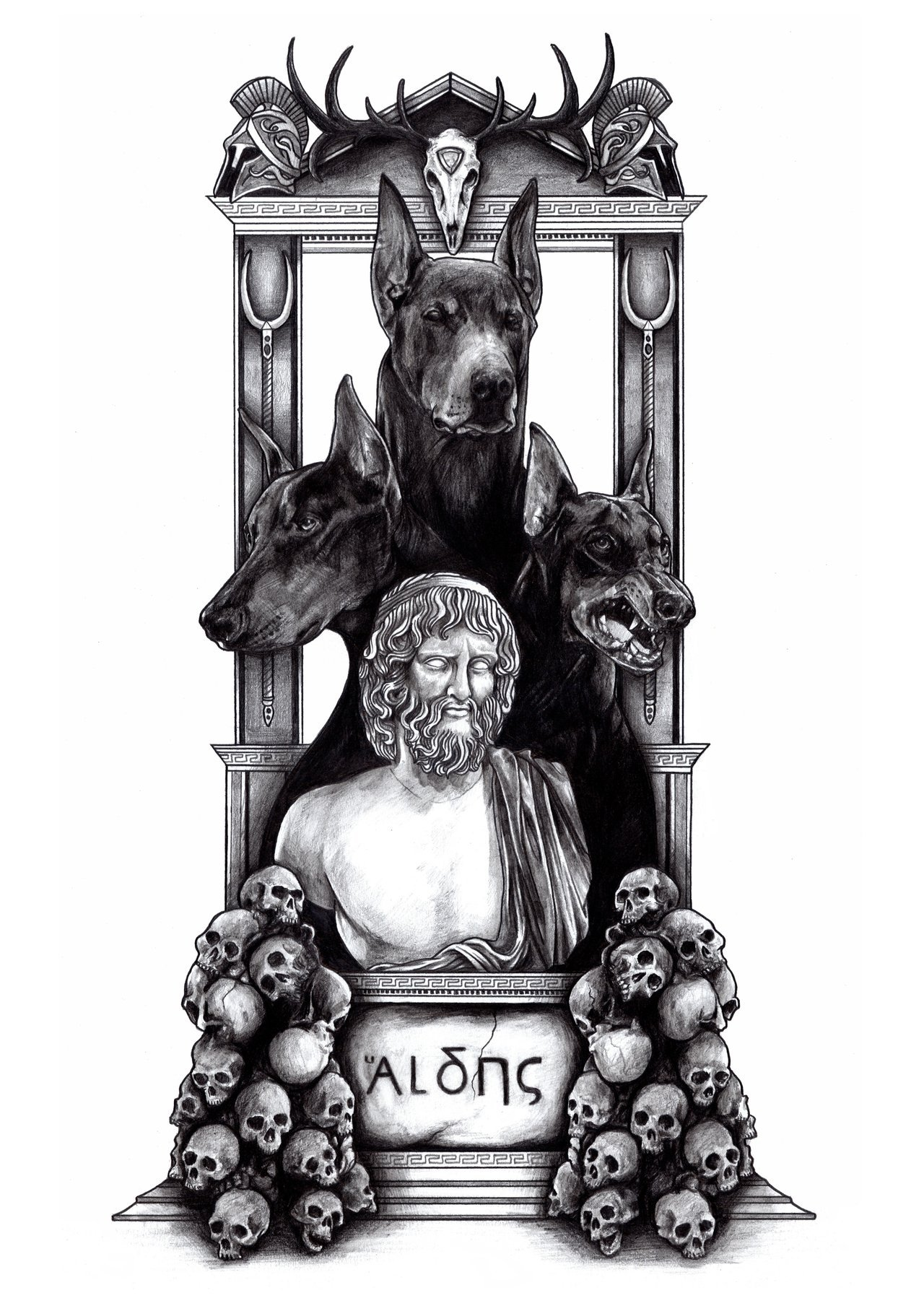 Hades by AaronKingIllustrator on deviantART