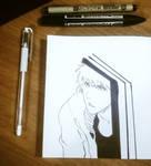 Ichigo Sketch by BarMek
