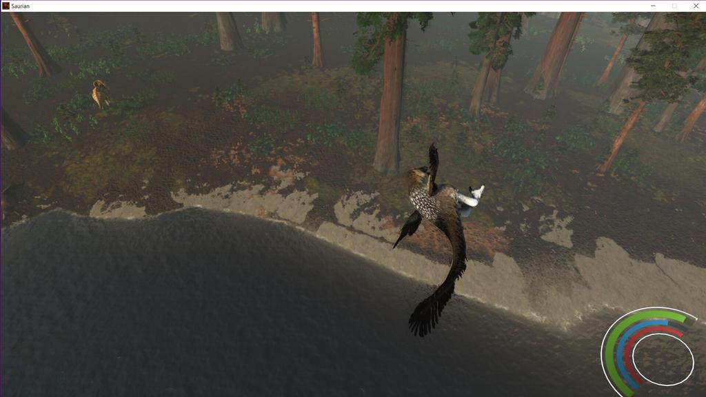 RIP stunt dakotaraptor  by BudgieBluBird
