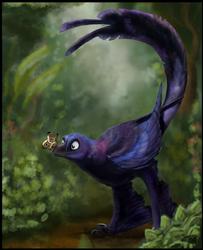 Xiang the Microraptor (Art Trade)