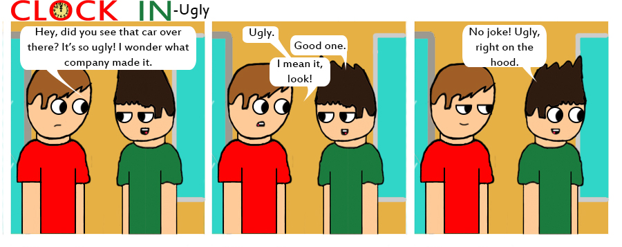 Ugly by clockincomics