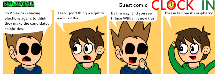 Eddsworld Guest by clockincomics