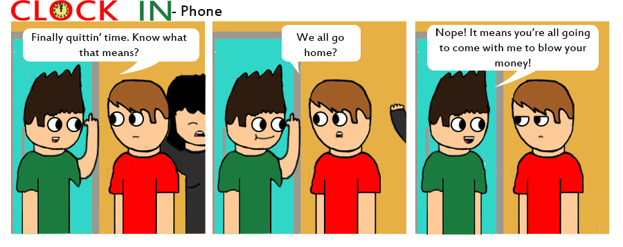 Phone by clockincomics