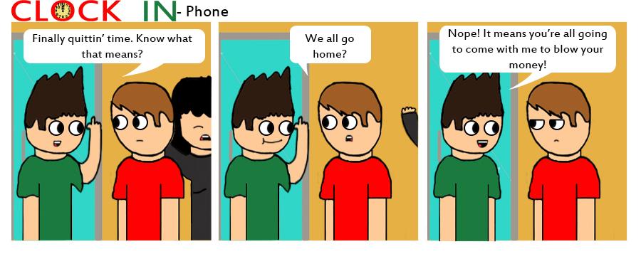Phone by clockincomics