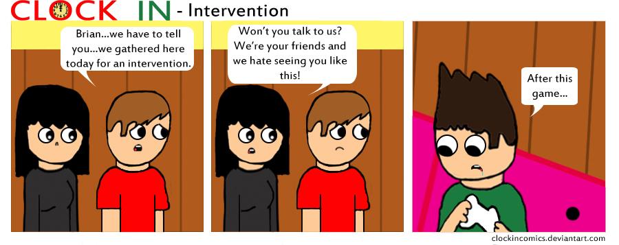 Intervention by clockincomics