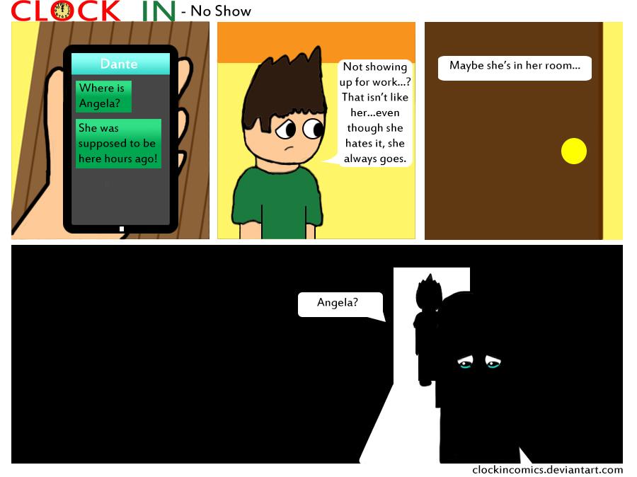 No Show by clockincomics