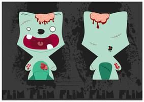 Zombie Floxy by ivan-bliznak
