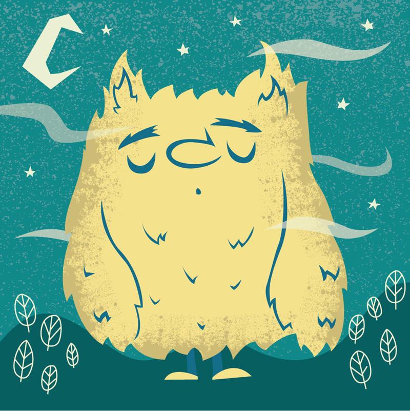 Monster: Sleepy by ivan-bliznak