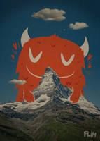Red Yeti by ivan-bliznak