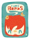 I like birds