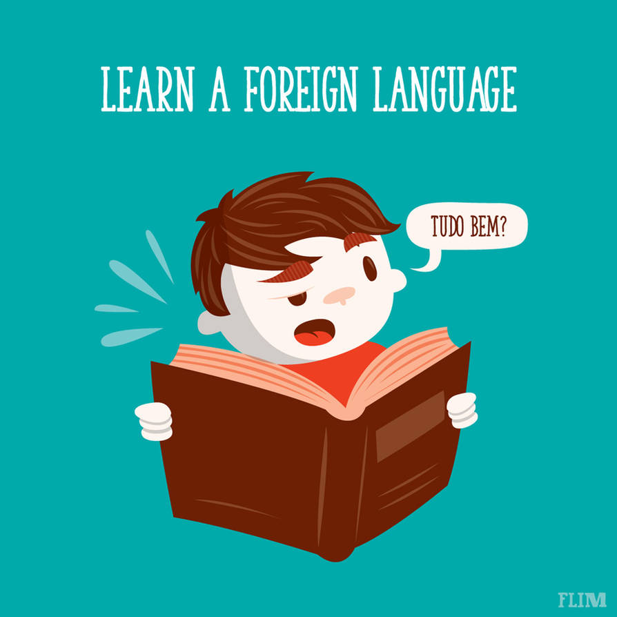 Learn a foreign language by ivan-bliznak