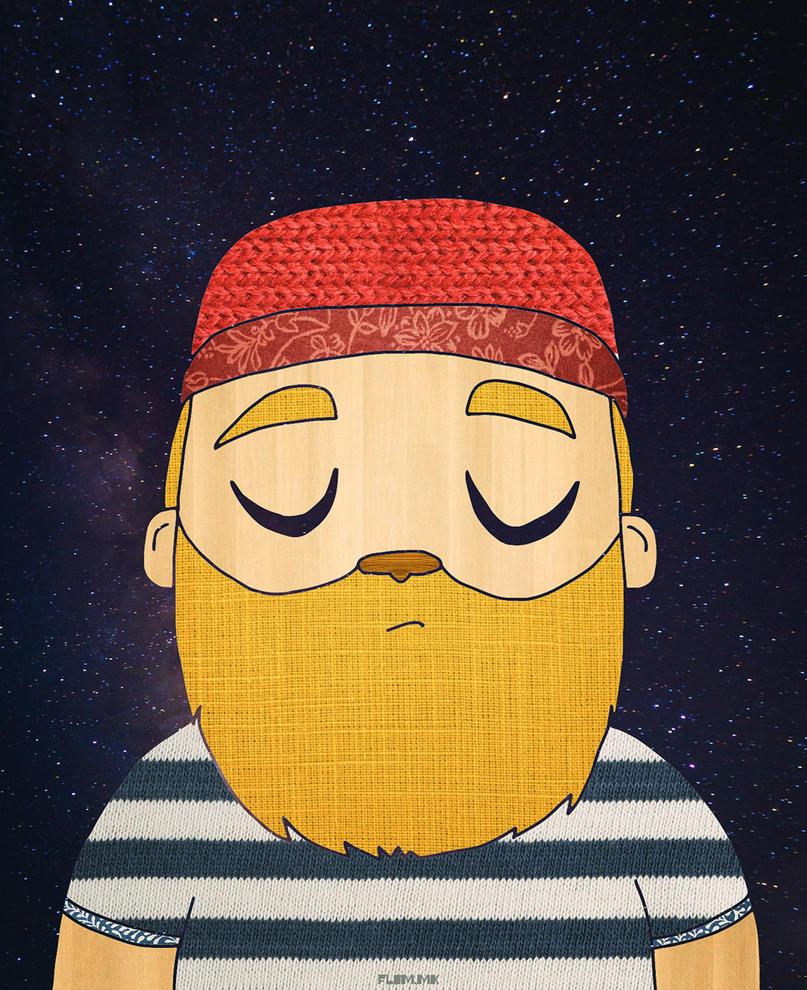 Galactic Sailor by ivan-bliznak