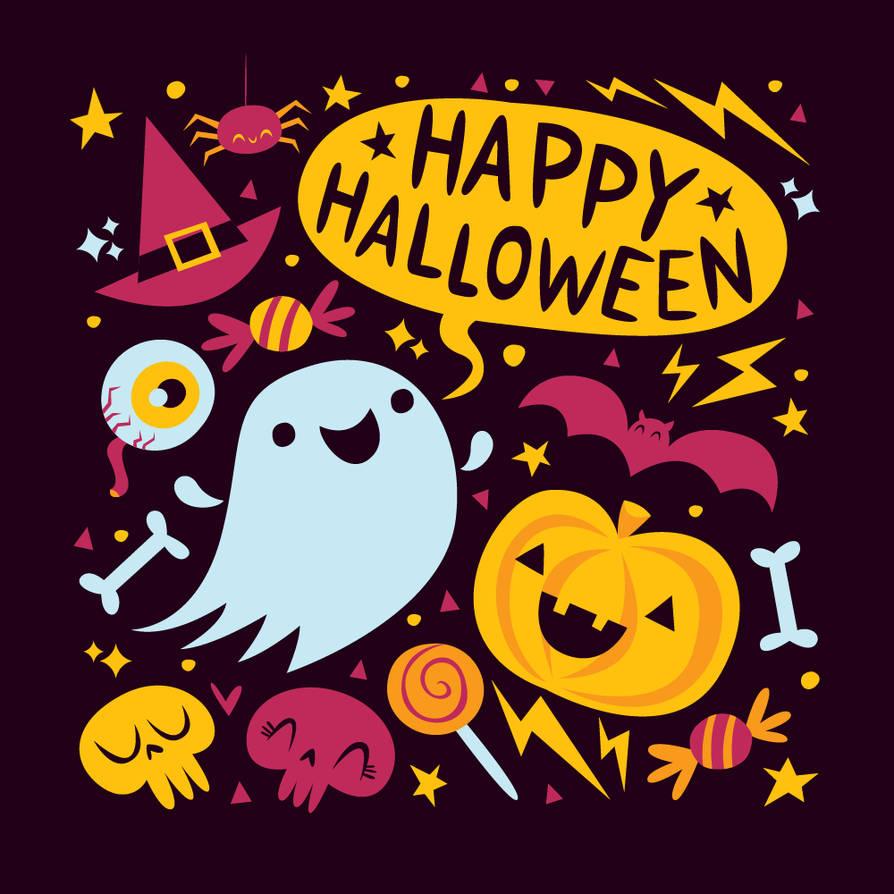 Halloween tutorial by ivan-bliznak