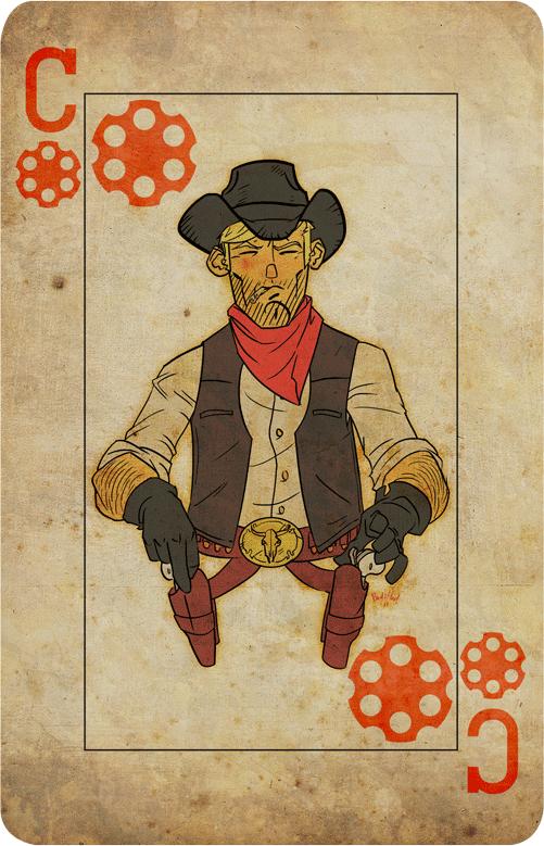 Cowboy Card by Scadilla