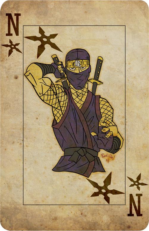Ninja Card by Scadilla
