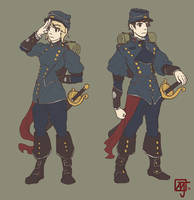 Cadets by Meirnon