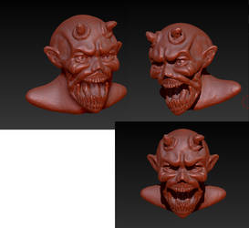 3D Monster WIP