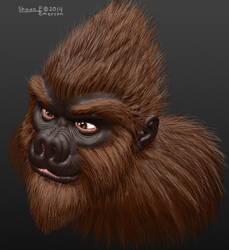 3D Bigfoot