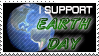 Earth Day Stamp by SusantheMartian
