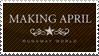 Making April Stamp by SusantheMartian