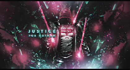 Justice for Gotham by OneDayGFX