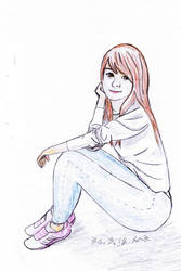 Chinese Girl Scetching by ComBa-Web