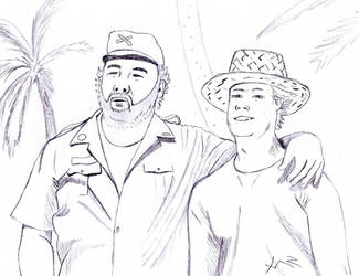 Bud and Terrence Fanart by ComBa-Web