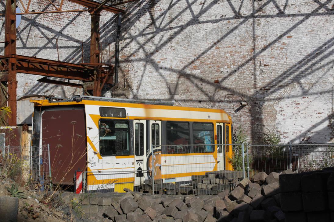 Old Tram in Muelheim by ComBa-Web
