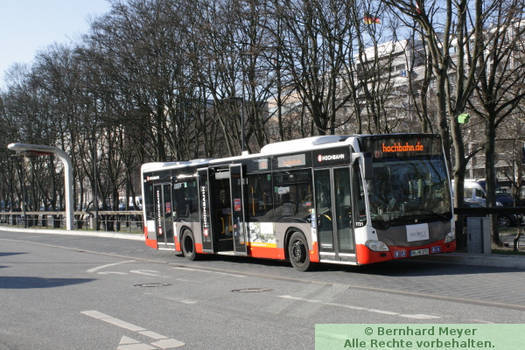 Hamburg ZOB / Bus 1731