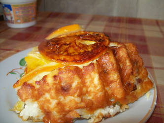 cottage cheese-Rice Casserole by ymymy