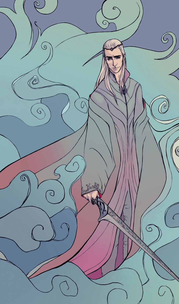 Thranduil King of the Elves by ymymy
