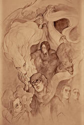 Harry Potter and Co by ymymy
