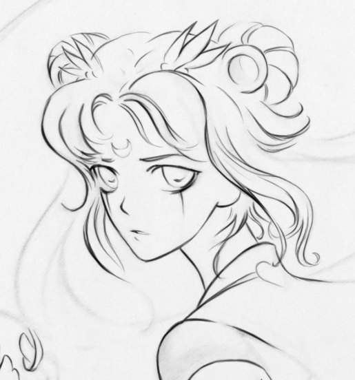 sailor moon wip by ymymy