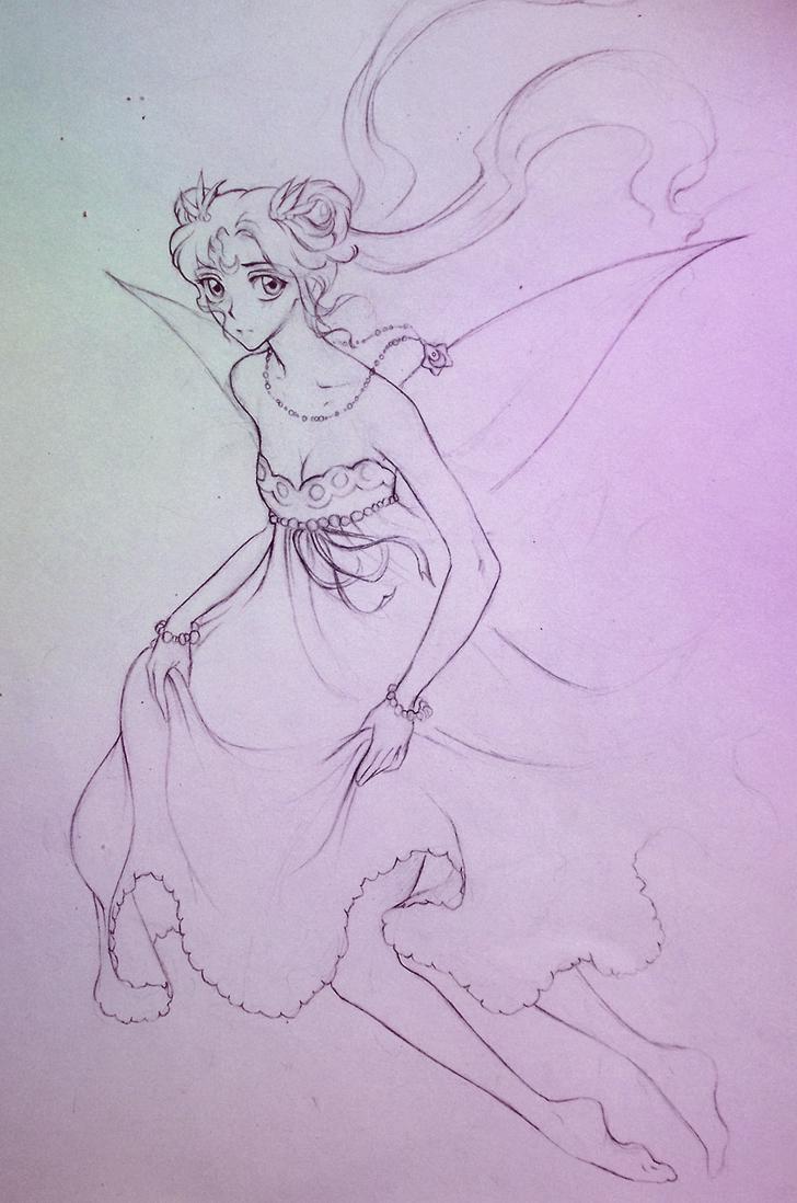 Princess Serenity by ymymy