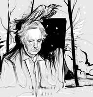 in memory of Alan Rickman by ymymy
