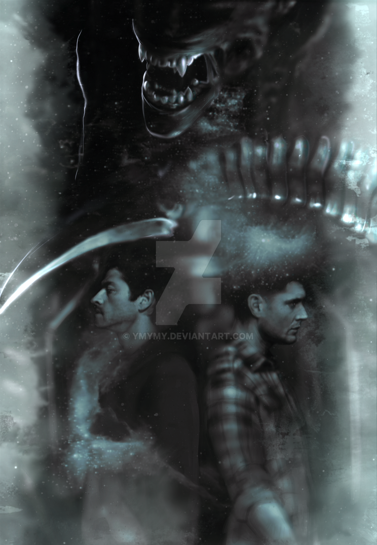 Alien-Cas-Dean by ymymy