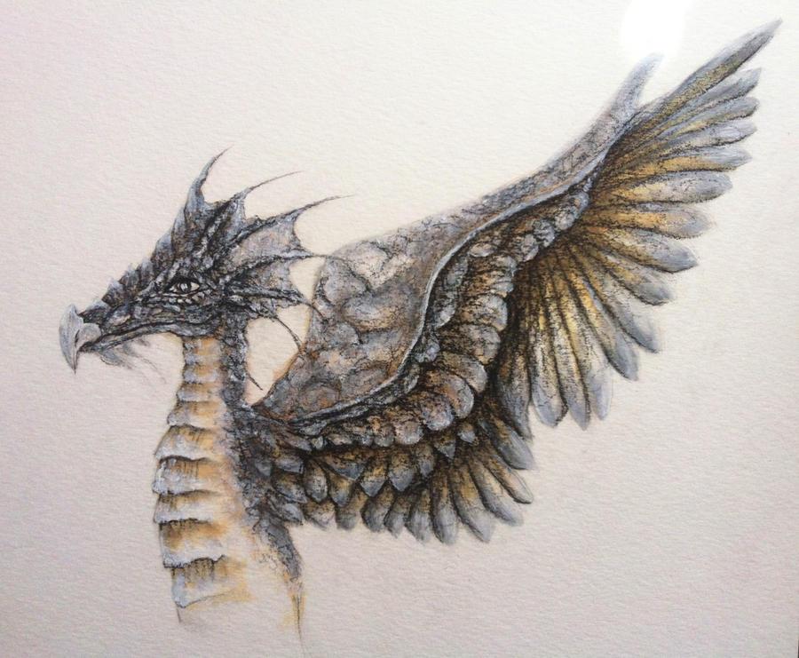 dragon illustration by sugarkoma - photo #2