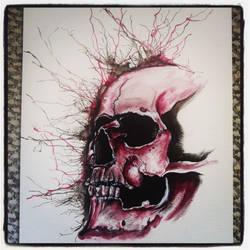 Skull by sugarkoma