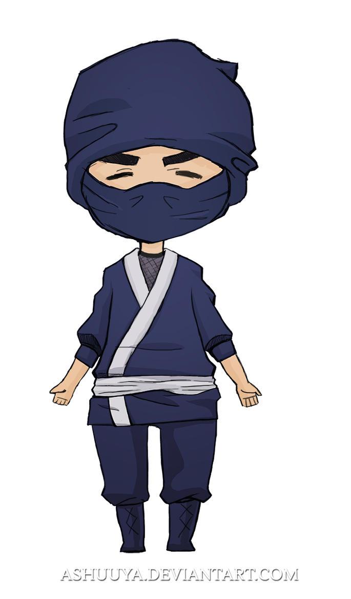 Generic Chibi  Ninja by ashuuya
